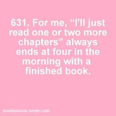 Why I won't sleep tonight >_<  Bookworm's problems # 631