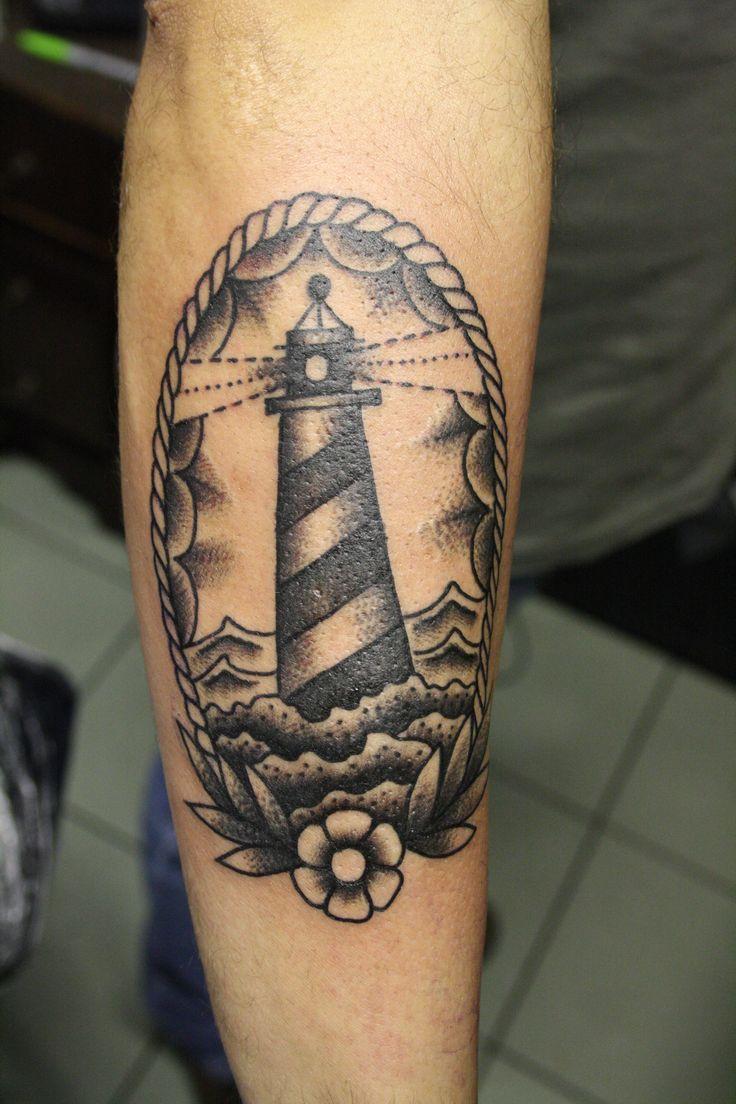 Lighthouse Tattoo: 47 Best Lighthouse Tattoos Images On Pinterest
