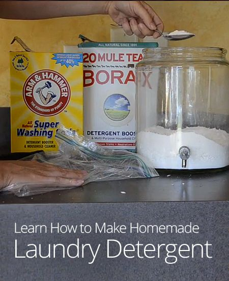 Try Making Your Own Laundry Detergent At Home This Lesson