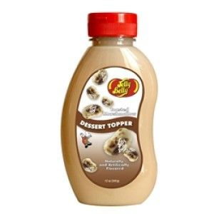 An outer of 6 bottles of Jelly Belly Topping Toasted Marshmallow.