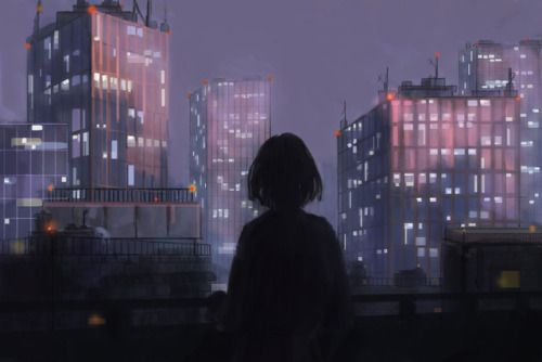 Welcome To The Wave In 2020 Anime Scenery Anime Scenery Wallpaper Anime Art Girl