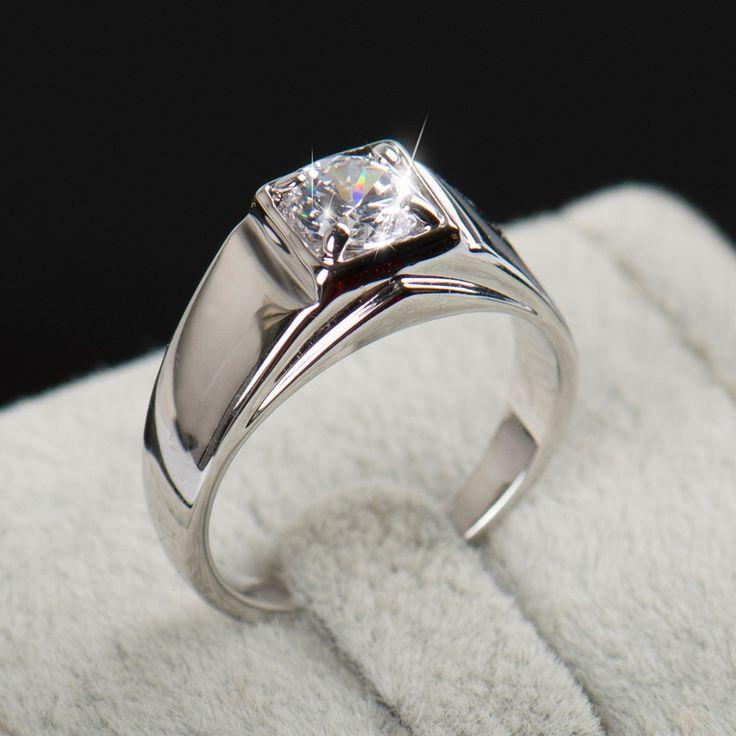 Crazy Sale Inlay AAAAA Level Austria Crystal Zircon Men Ring,Wedding 18K Platinum Gold Ring Designs For Men Fine Men Jewelry  #designerdivajewelry #bracelets #weddingjewelry #jewellery #jewelry #chain #jewelrysets #earrings #weddingbands #pendants