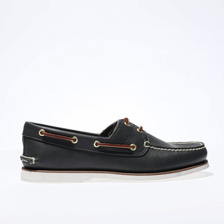 mens navy timberland classic boat shoes | schuh