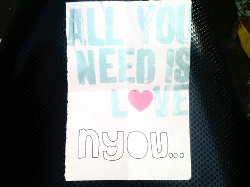 All you need is love nyouuu