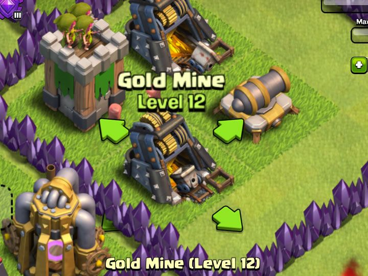 Clash of Clans Gold Mine - The major source of wealth. The mine produces and stores the gold till the players collect it. Let's learn about the Gold Mine.