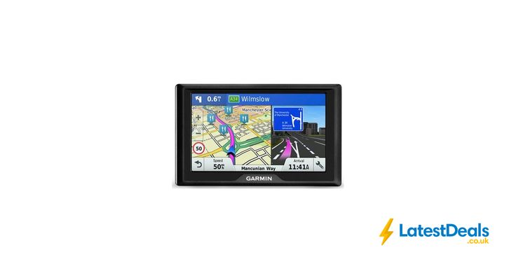 """Garmin Drive 50 LM 5"""" Sat Nav with UK and Ireland Maps 2016 Free C&C, £79 at Halfords"""