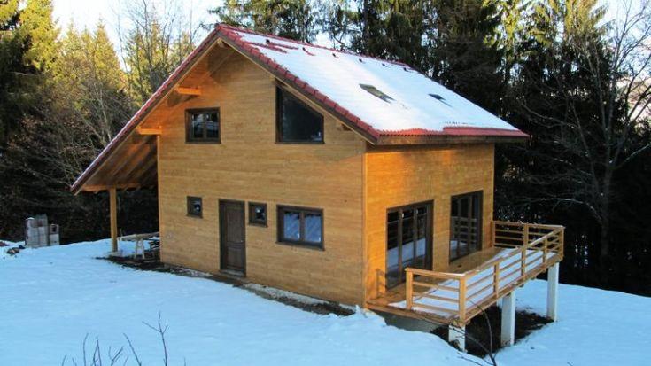 Houten huizen - Houtskeletbouw Woning Domogled