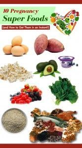 10 Pregnancy Super Foods-Eggs — Hard-boiled, scrambled, or in an omelette, eggs are a powerhouse of protein and are packed with  12  vitamins and minerals, including iron and choline (essential for fetal brain development and reducing the risk of neural tube defects).  Extra bonus? An egg is only about 90 calories.Sweet potatoes — With more potassium than a banana and a handful of other nutrients like fiber,...