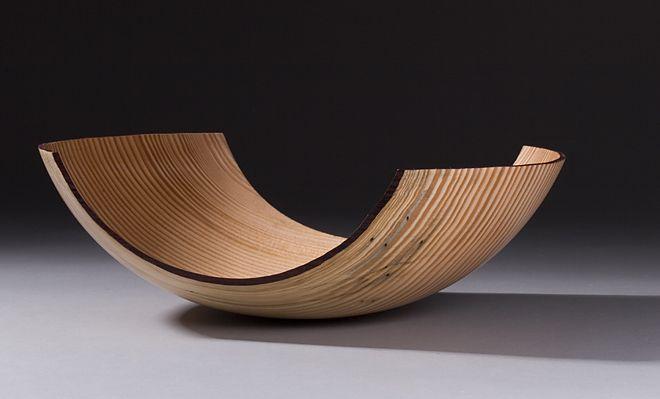 essence series #3 bill luce wood turned douglas fir