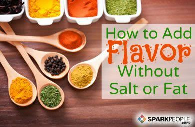 Wake up your taste buds! Cooking with herbs and spices will enhance the flavor of healthy foods without adding fat, salt, sugar, or calories. via @SparkPeople