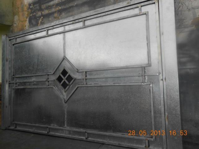 Portão ferro galvanizado