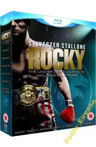 ROCKY 1-6: THE COMPLETE SAGA (7 x BLU RAY)