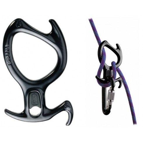 Pirana Descender-Black - Accessories - Climbing Equipment - Tactical Distributors- Tactical Gear
