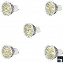 5 x 7W GU10 SMD 2835 840LM LED Corn Lamp Spot Light