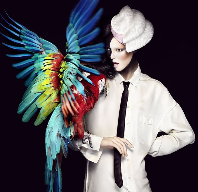 Hats Have It: Amazing Hats and Headwear fashion photos for inspiration. From Fashion World