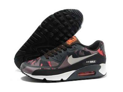 Calzos de Descuento Nike Air Max 90 Premium Negro Rosa Gris Pizarra Zapatos Se Vende con Otros Mujeres Nike Air Max 90 Rosa