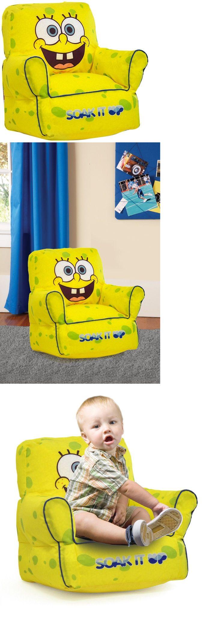 SpongeBob Squarepants 20919: Bean Bag Chair Dorm Kids Seat Furniture Sofa Tv Video Games Room Lounge Spongebo -> BUY IT NOW ONLY: $36.93 on eBay!