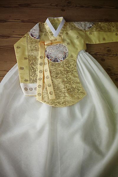Korean Tradition Wedding Dress
