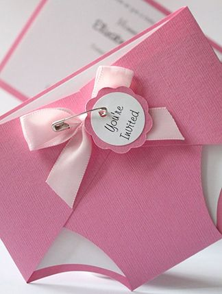 Baby Shower Trend: Diaper Invites---- but in blue!