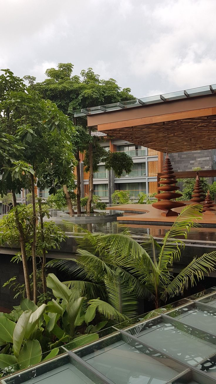 View from room balcony...Hotel Indigo Seminyak Bali