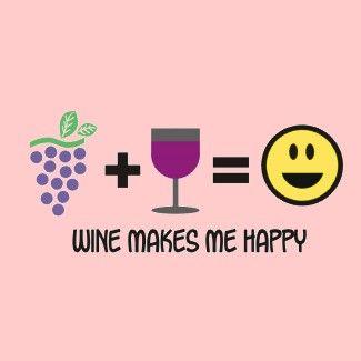 Wine = Happy