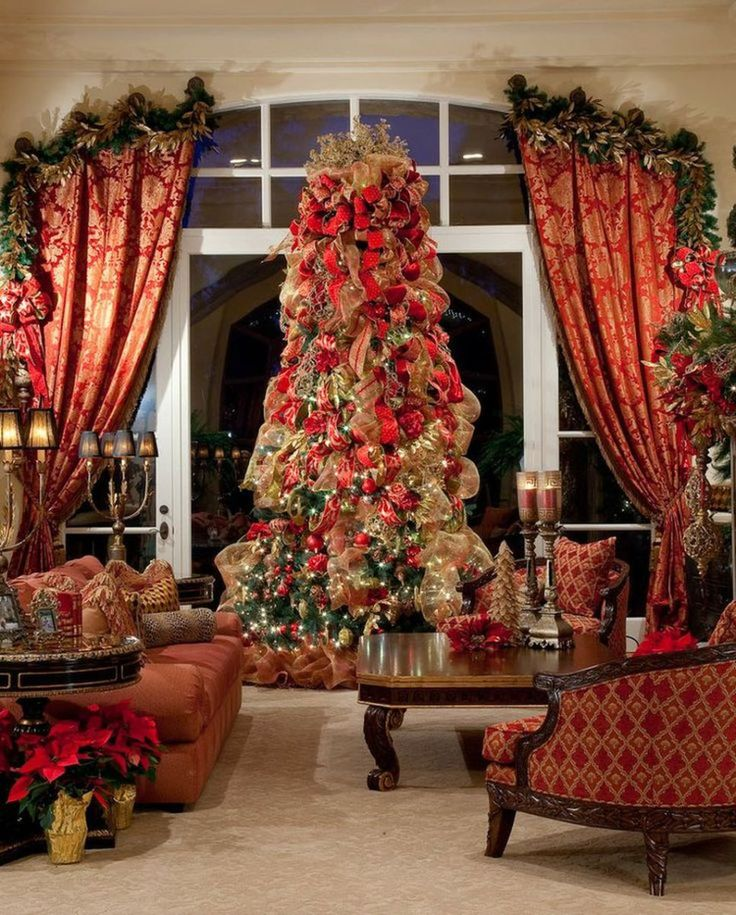 Best christmas decoration ideas for your living room (47)