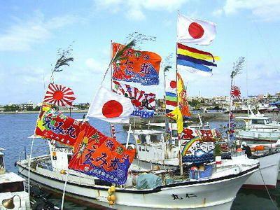 japan,fishing boat,flag,successful flag,大漁旗,万祝旗