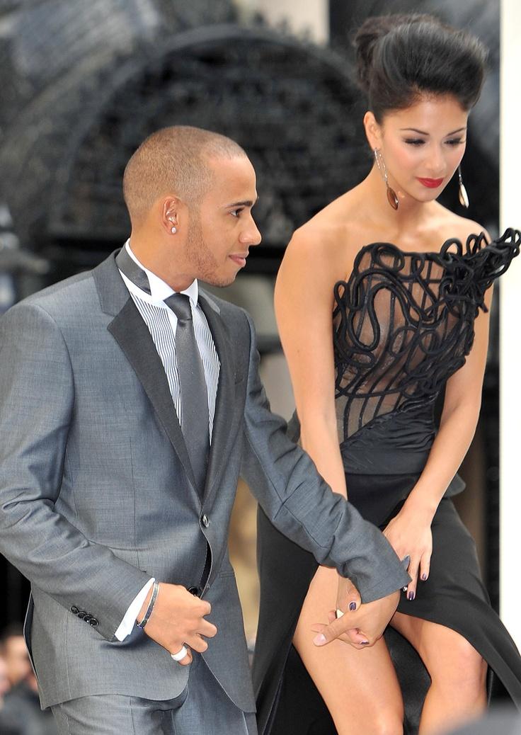 PinkSpeedBlog: Lewis Hamilton and Nicole Scherzinger http://pinkspeedblog.blogspot.it/2013/04/f1-in-love.html