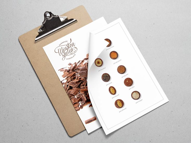 Corporate Identity for Winston & Julia by Pink Pigeon Graphic Design © www.pinkpigeon.co.za