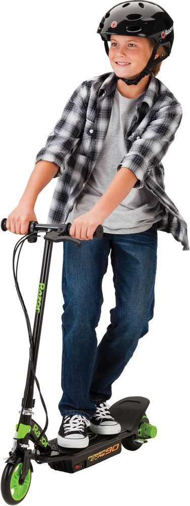 Razor Power Core 90 Electric-Powered Scooter Kids Outdoor Battery Easy Setup New #Razor