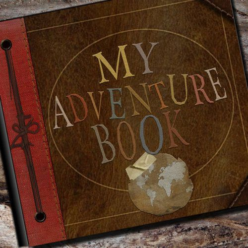 'My adventure book' from UP!