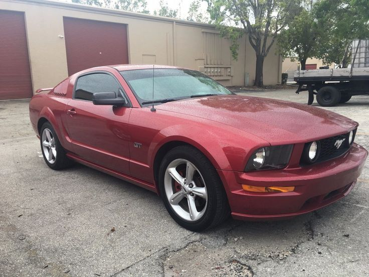 eBay: 2005 Ford Mustang PREMIUM RED HOT MUSTANG! LOUD EXHAUST 5 SPEED FAST, GT PREMIUM! #fordmustang #ford