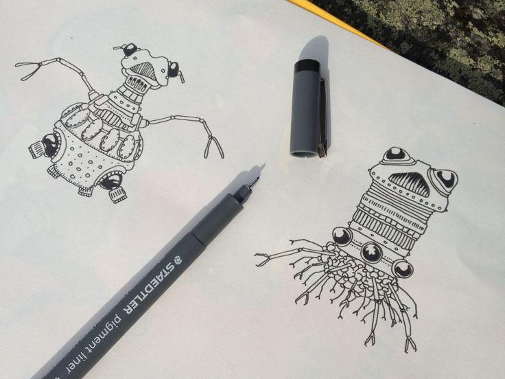Two Robots by Johannes Koski