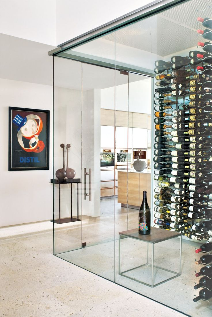 18 Super Stylish Wine Rooms | LuxeDaily   Design Insight From The Editors  Of Luxe