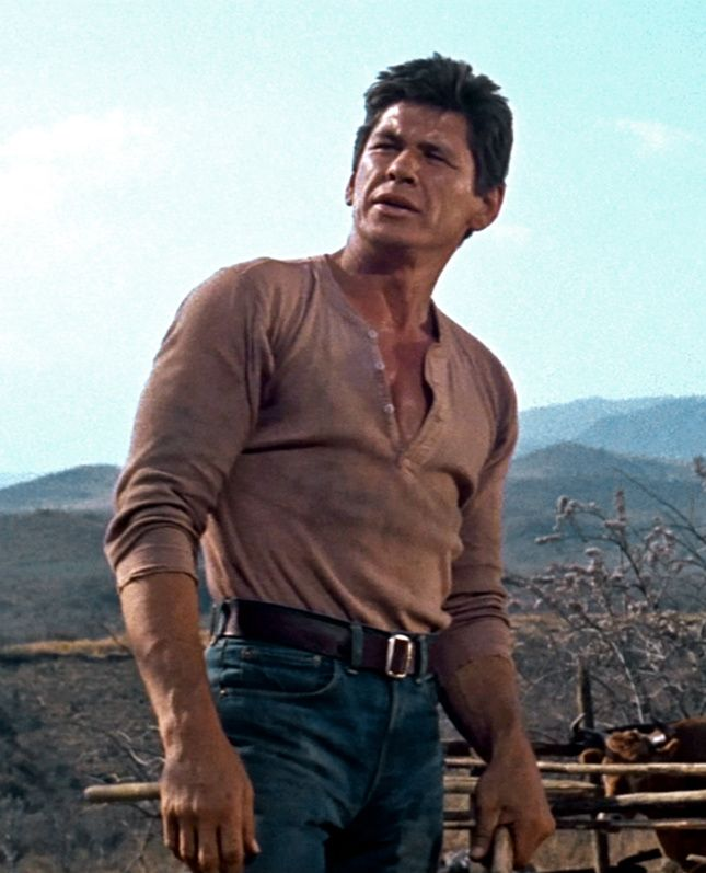 Charles Bronson in The Magnificent Seven 1960