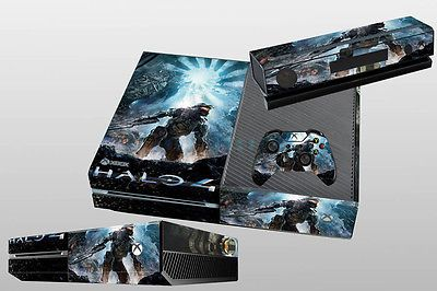 New Arrived Halo Custom Sticker for Xbox One Console Controller Skins USA Ship