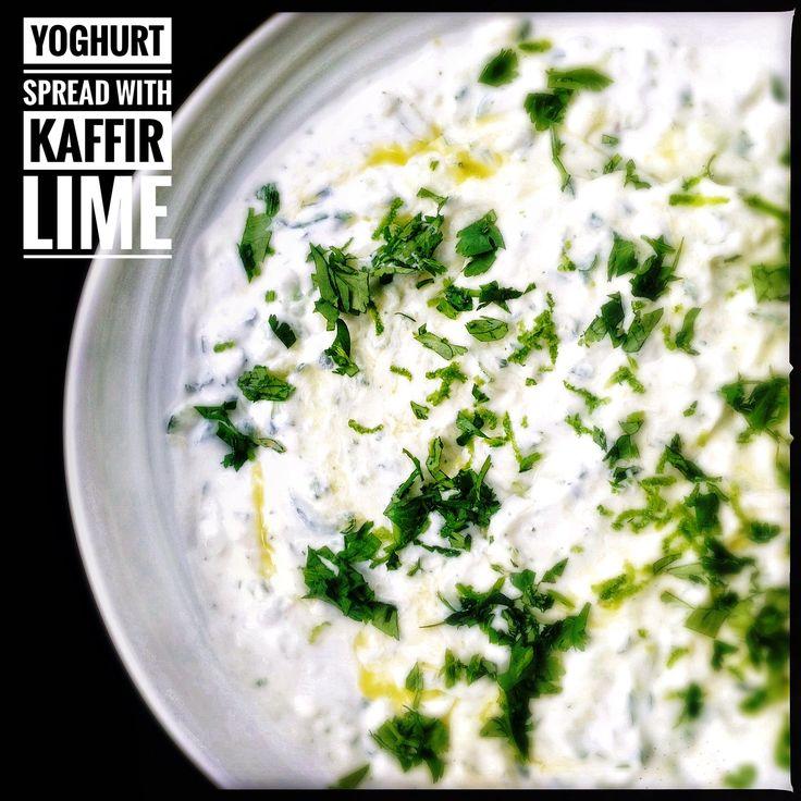Yoghurt and Kaffir Lime Leaf Spread