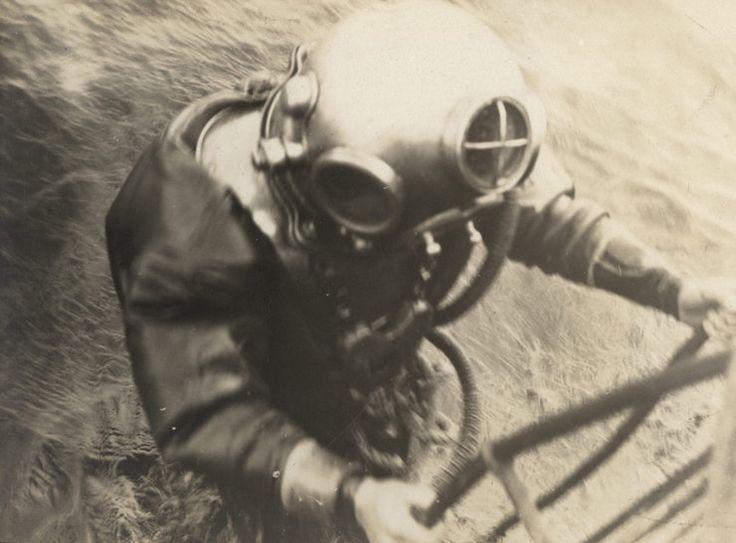 Niemiecki nurek, 1917 rok