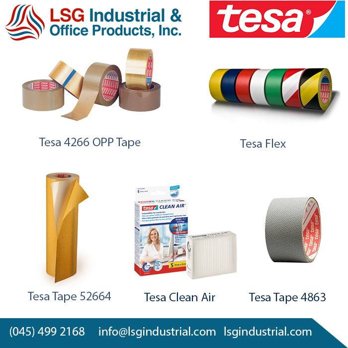 We are the only supplier of TESA Clean Air in the Philippines. Other offers are wide range of TESA Tapes for different application. Order now!