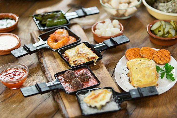 42 besten raclette fondue bilder auf pinterest fondue. Black Bedroom Furniture Sets. Home Design Ideas