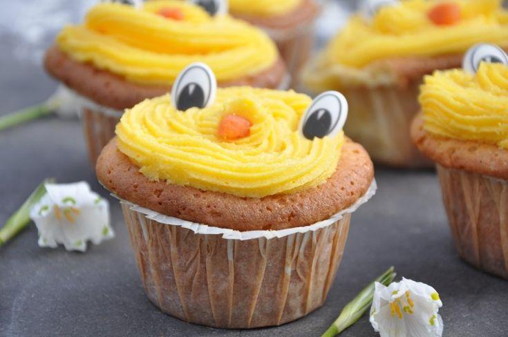 Påske Cupcakes , England,Påske, Andet, Bagværk, opskrift