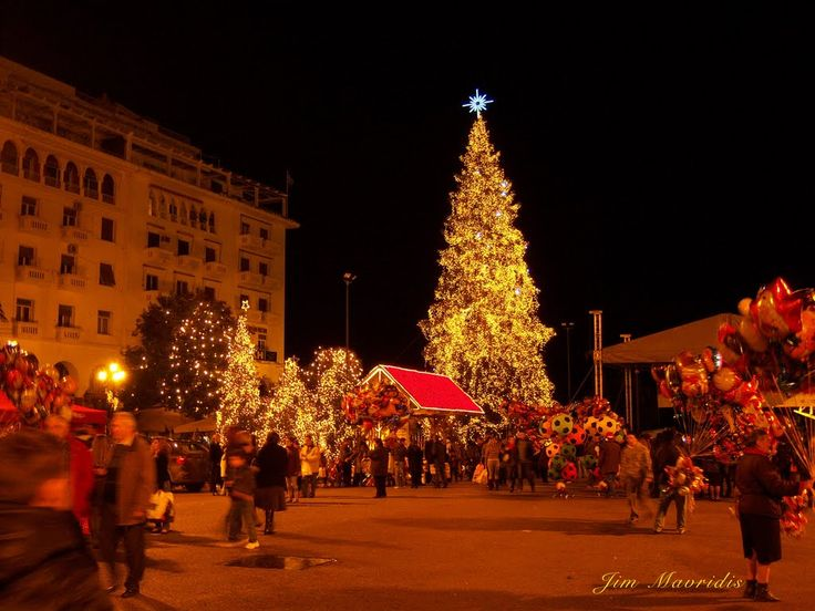 Visit Greece | Christmas time at Thessaloniki