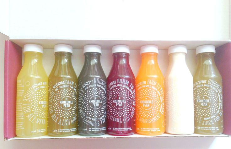 Krokodile Pear   One customers blog post about her experience with our juice cleanse!