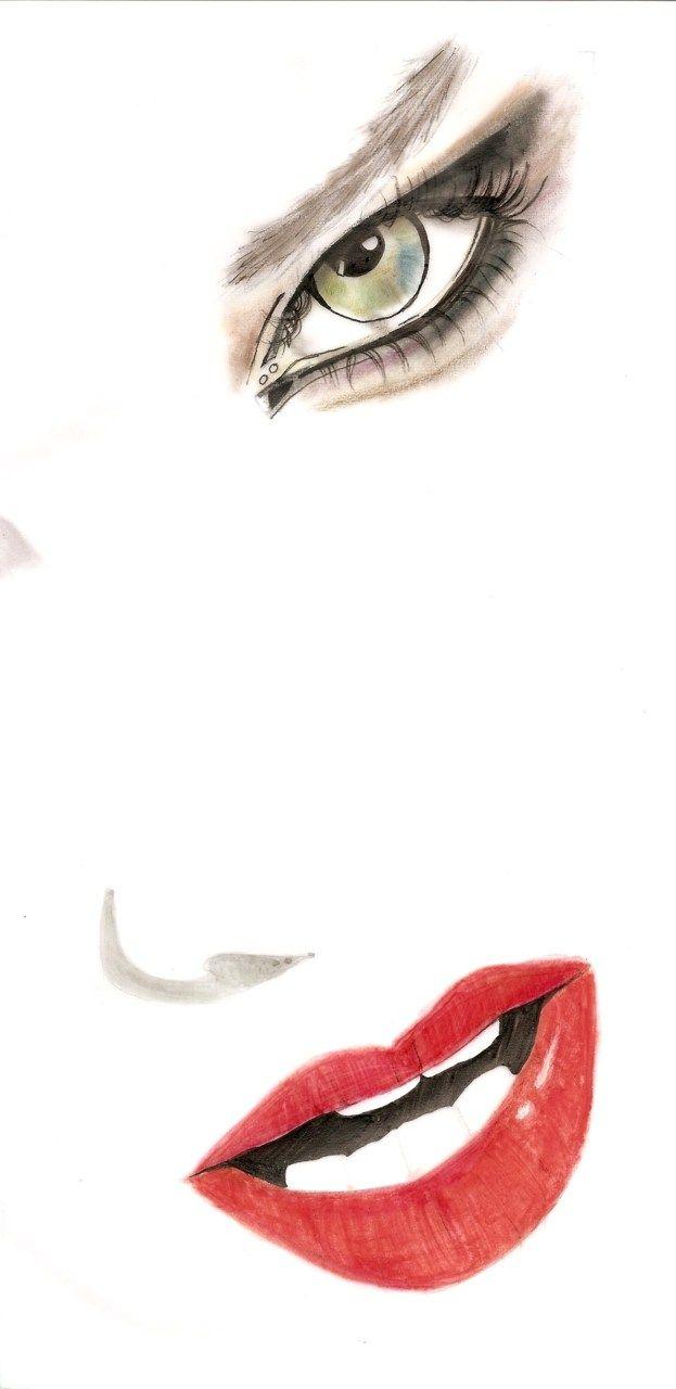 French Kiss   instagram @tlvillustration  email tlvillustration@gmail.com for prints