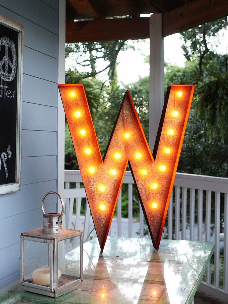 36W Vintage Marquee Light by Vintage Marquee Lights: Lights Zulili, Letters Mark, Lights Zulilyfind, 36W Vintage, Lights Letters, Vintage Marque, Marquee Lights, Letters W, Marque Lights