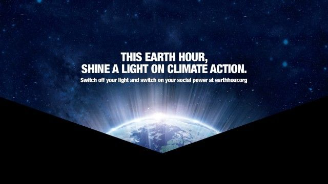 Celebrate Earth Hour 2016 on March 19th #ChangeClimateChange