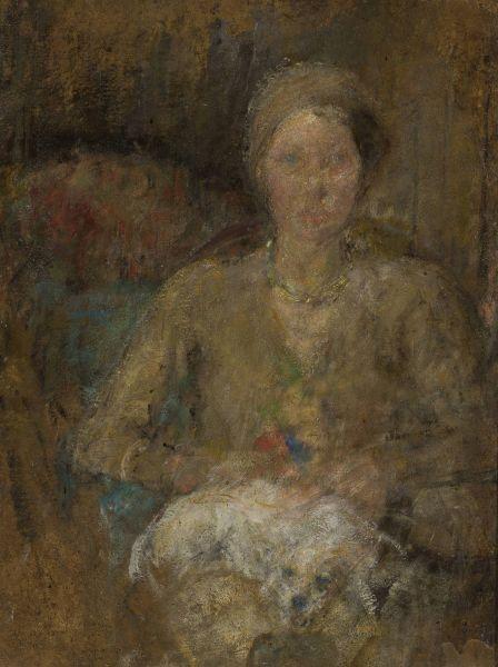 Portret Zofii Kulaszyńskiej - Olga Boznańska