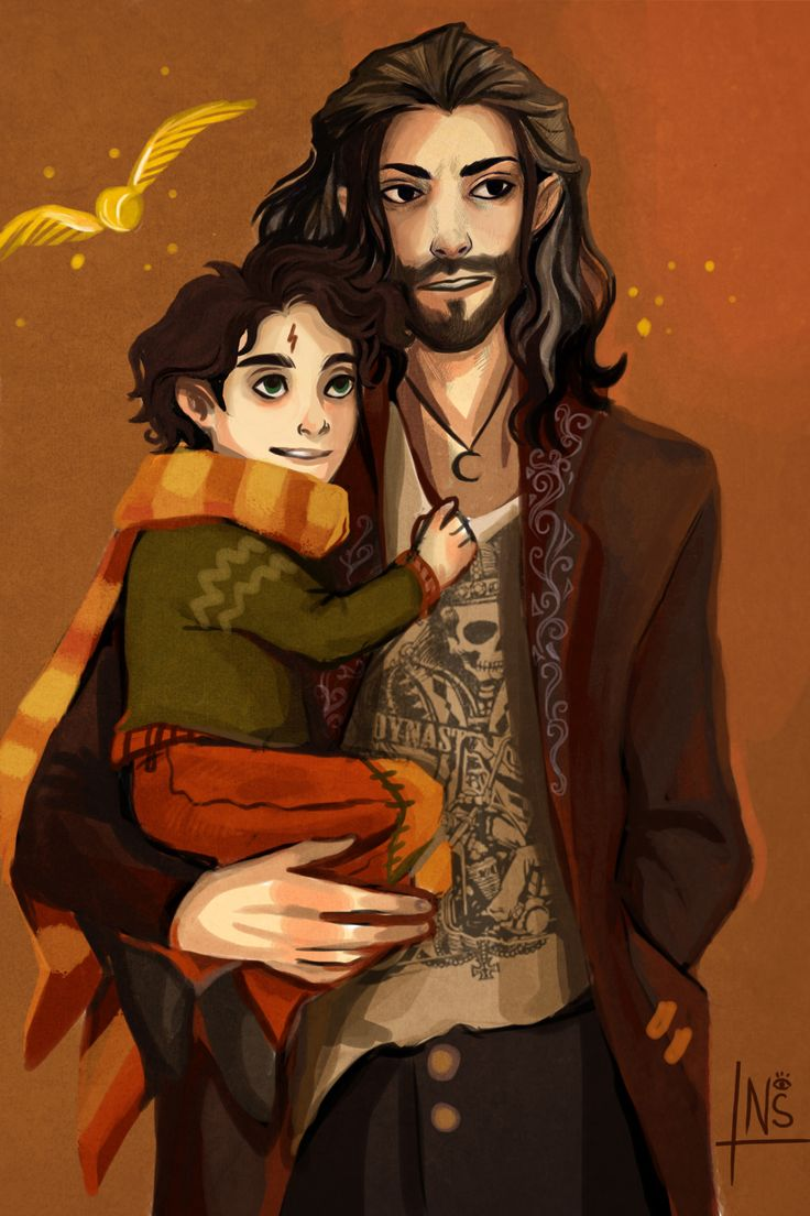 nastjastark: headcanon: Sirius didn't go to Azkaban oh god how am I going to live with it