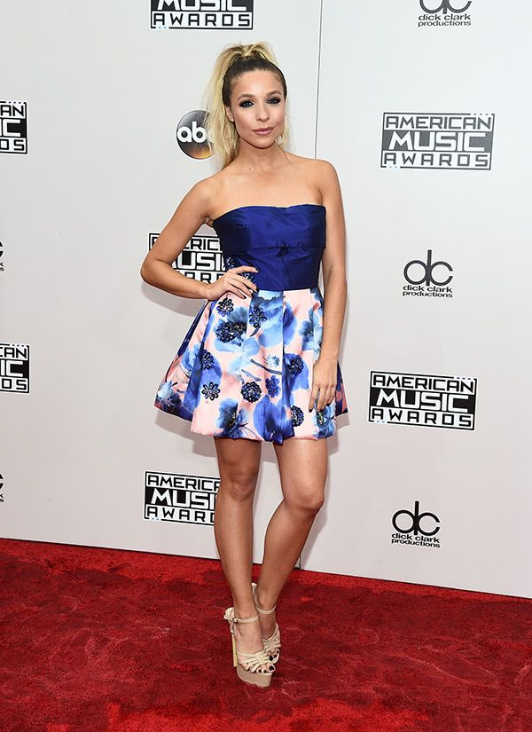 Kira Kazantsev attends the American Music Awards