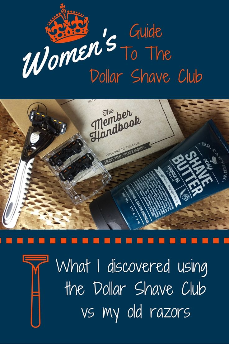 Dollar Shave Club Review from a Women's point of view!